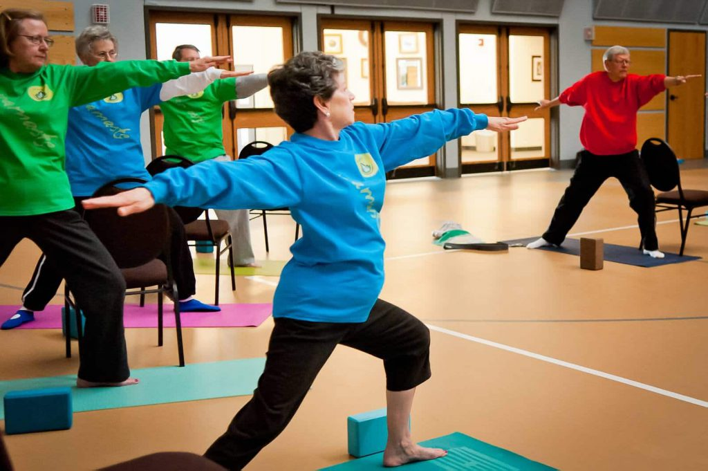Yoga for Seniors in McKinney