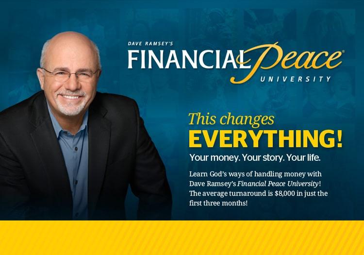 Financial Peace University Trinity Presbyterian