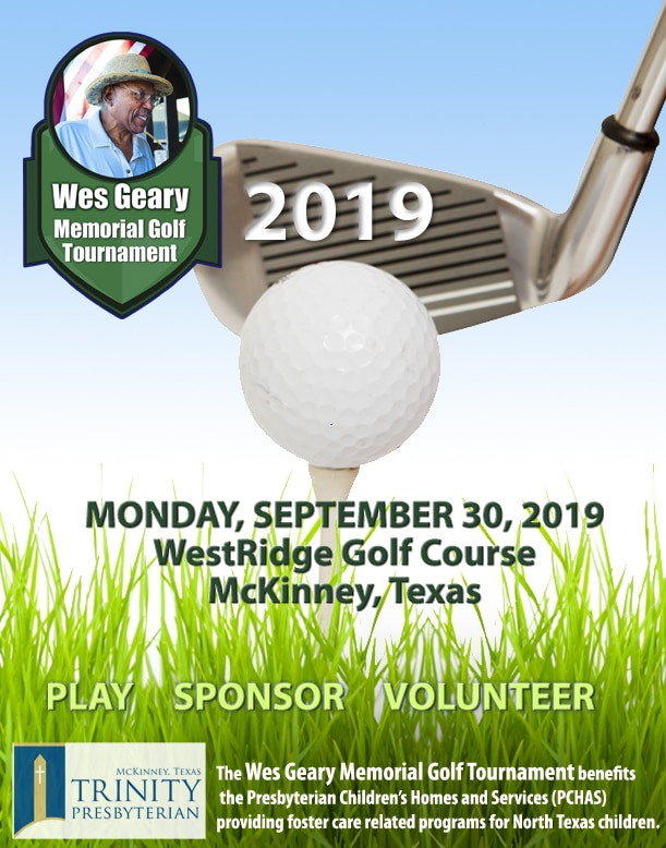 2019 Wes Geary Memorial Golf Tournament